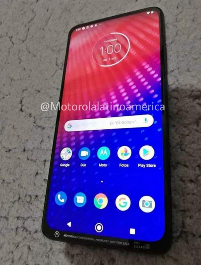 Unreleased Moto Phone leaked image