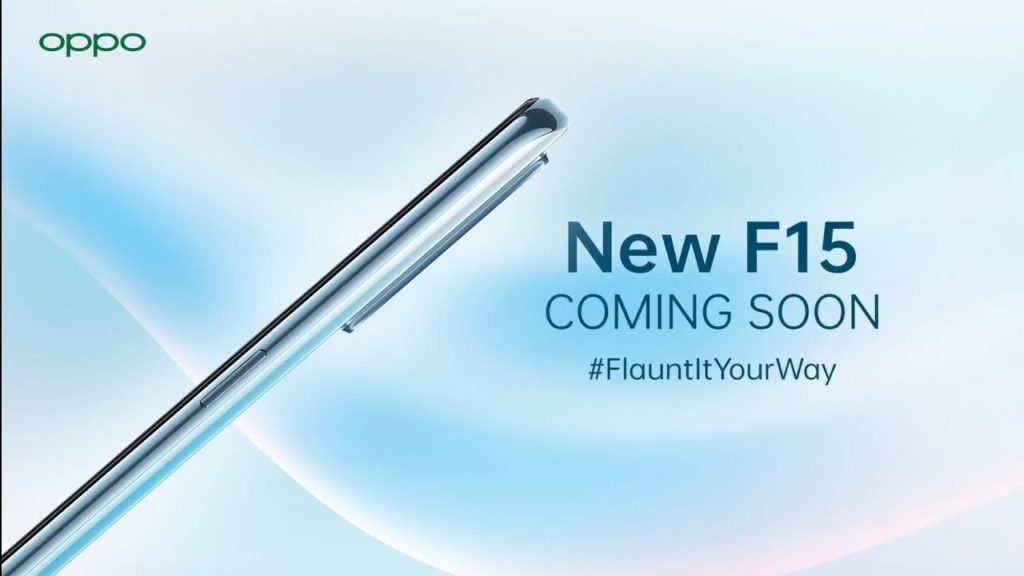Oppo F15 coming soon