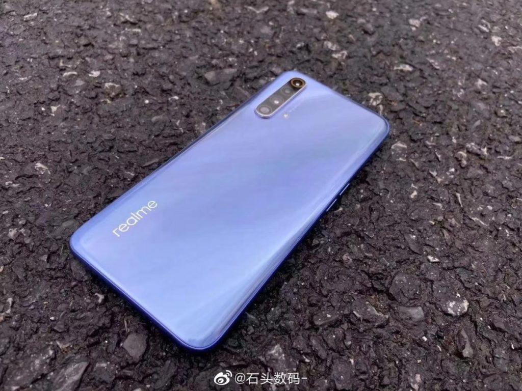 New images of the Realme X50 5G surface