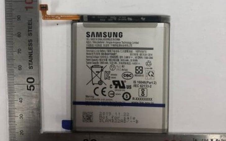 Samsung Galaxy A41 battery leak