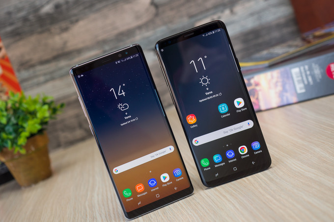 Samsung Galaxy Note 8 and Galaxy S9 get January 2020 security update