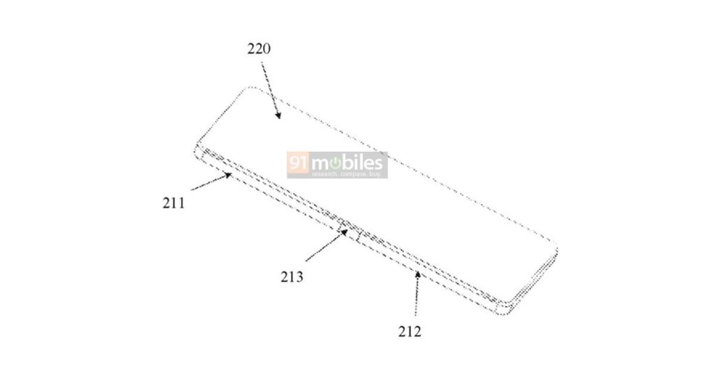 Xiaomi files patent for foldable phone
