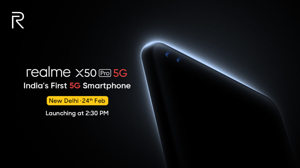 Realme X50 Pro 5G with Snapdragon 865 and 65W fast-charging to launch on February 24