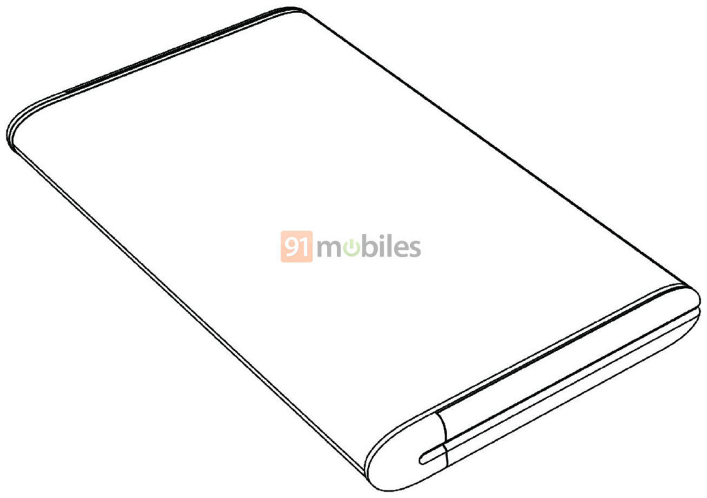 Xiaomi Mi Mix Fold with Huawei Mate X-like design appears in a new patent