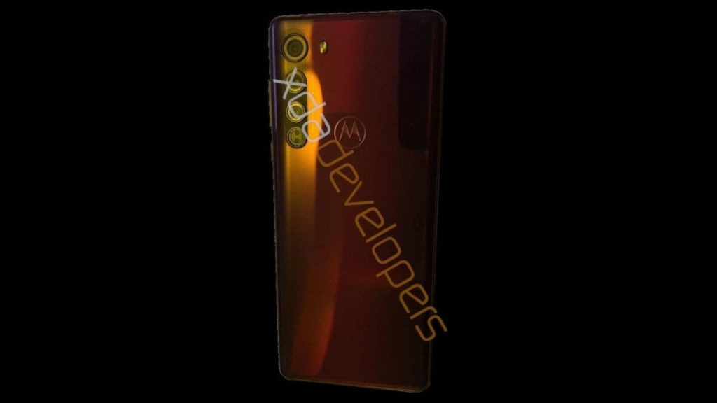 Motorola Edge leaked image (rear)