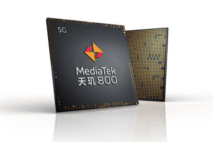 MediaTek Dimensity 800 5G chip