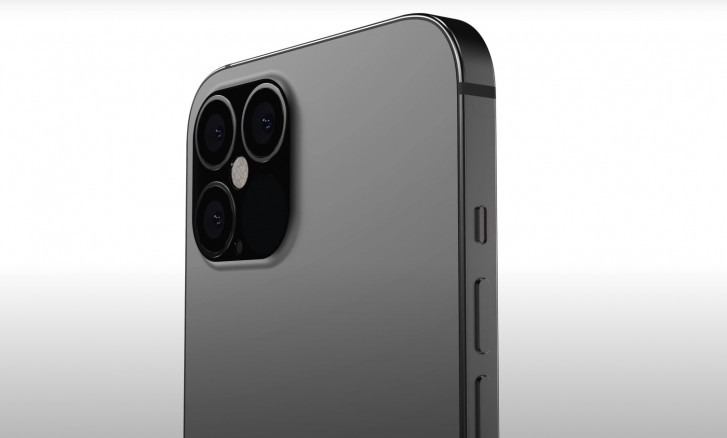 iPhone 12 Pro Max CAD render (camera)