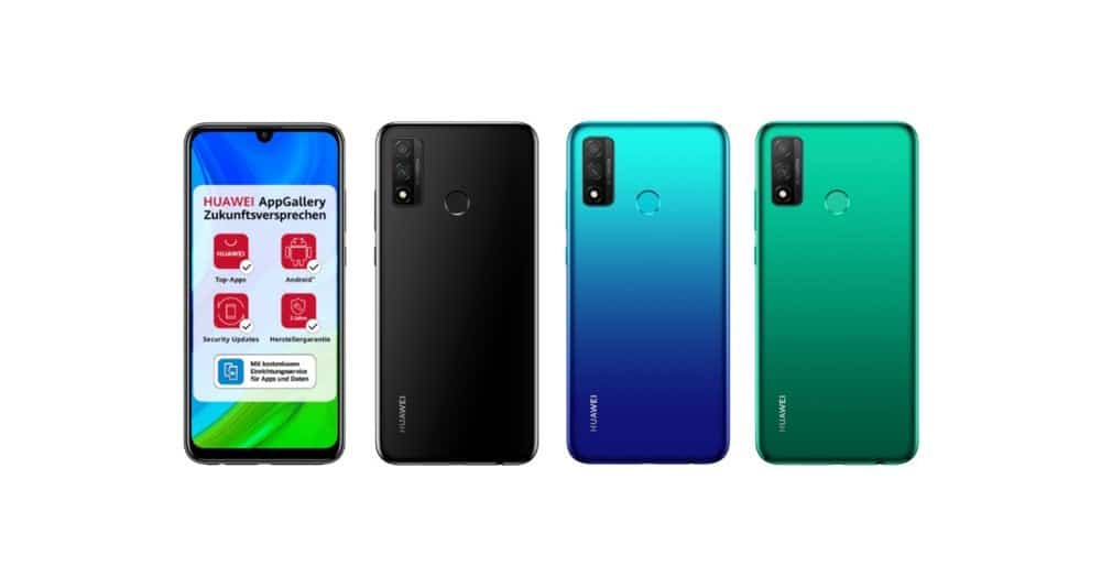 Huawei P Smart 2020 Color Options