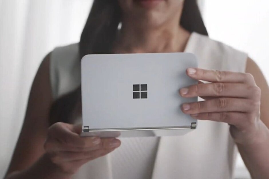 Microsoft Surface Duo leaked with Snapdragon 855 Chip, 6GB RAM, and a 3,460mAh Battery