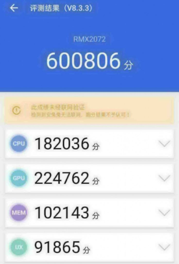 Realme X3 Pro with Snapdragon 865 SoC allegedly spotted on AnTuTu