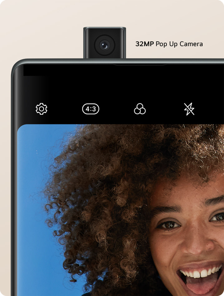 LG Wing Pop-Up Selfie Camera