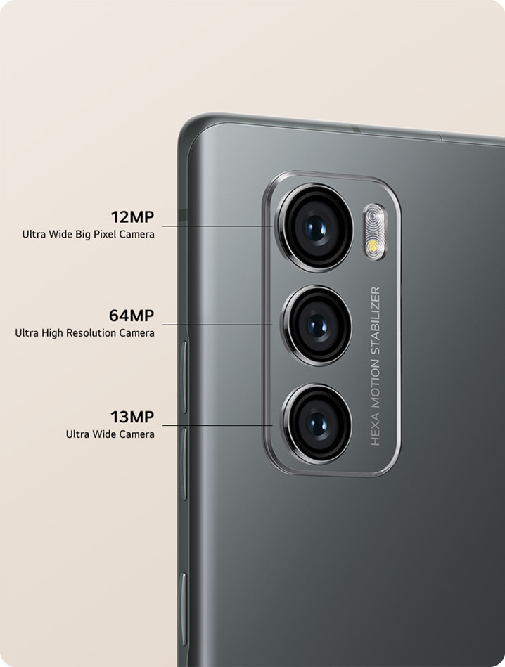 LG Wing Triple-Camera setup