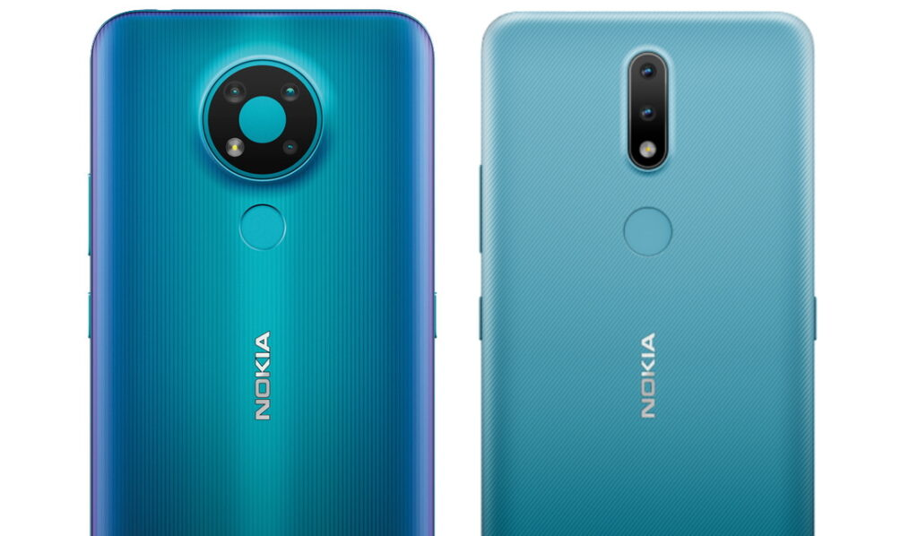 Nokia 2.4 and Nokia 3.4 Renders leak
