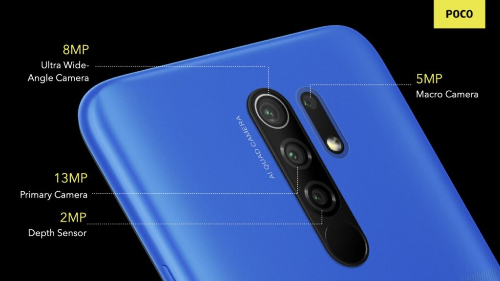 POCO M2 Rear Camera Setup