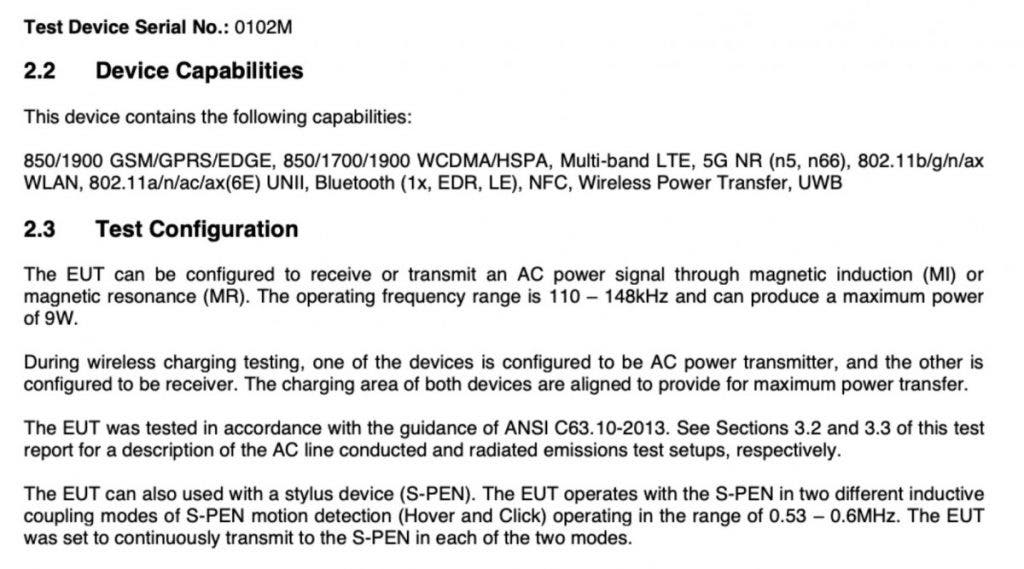 Samsung Galaxy S21 Ultra S-Pen support confirmed by FCC listing